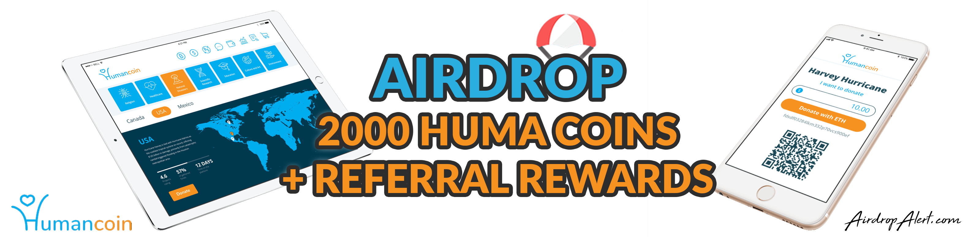 Humancoin Exclusive Airdrop, beginner's guide for your crypto airdrop