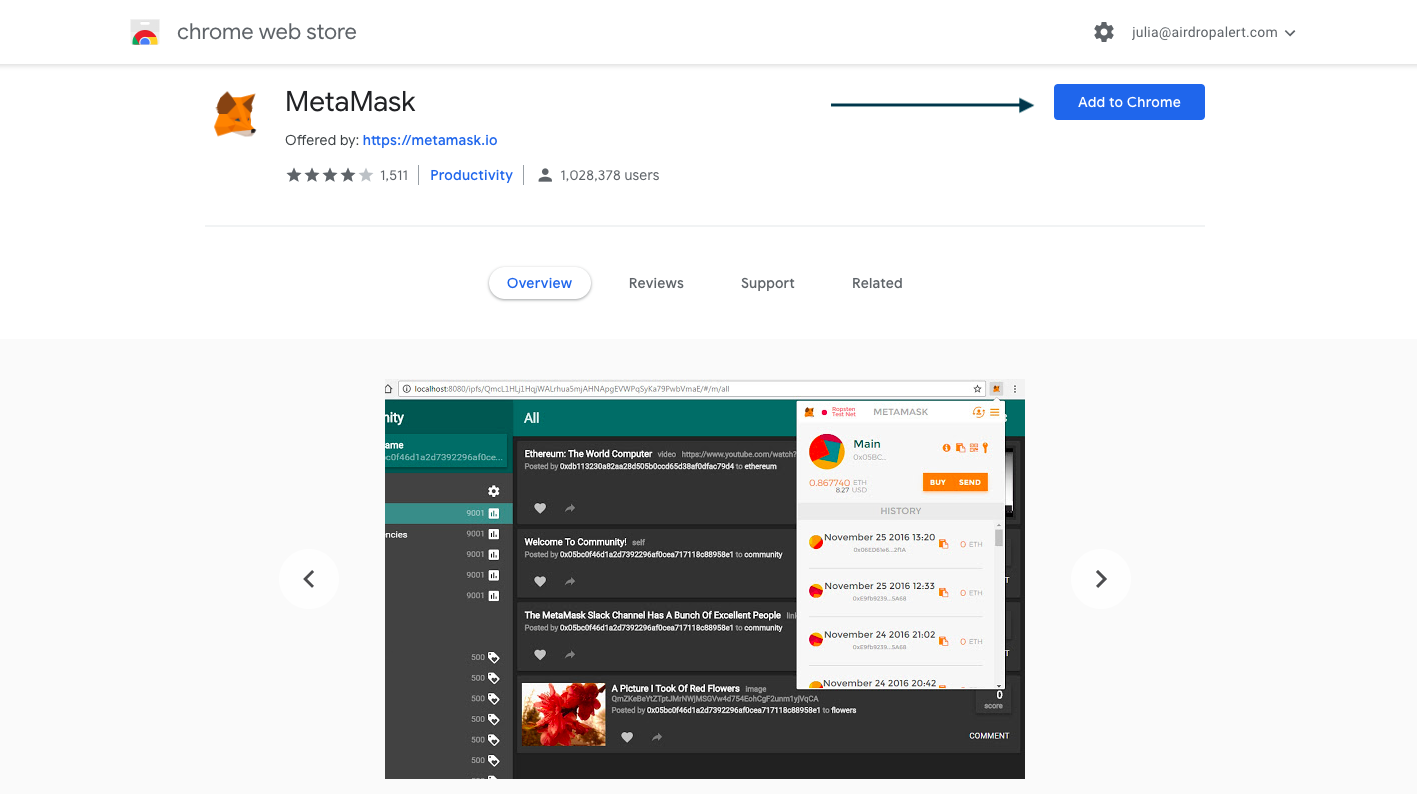 metamask_add_to_Chrome