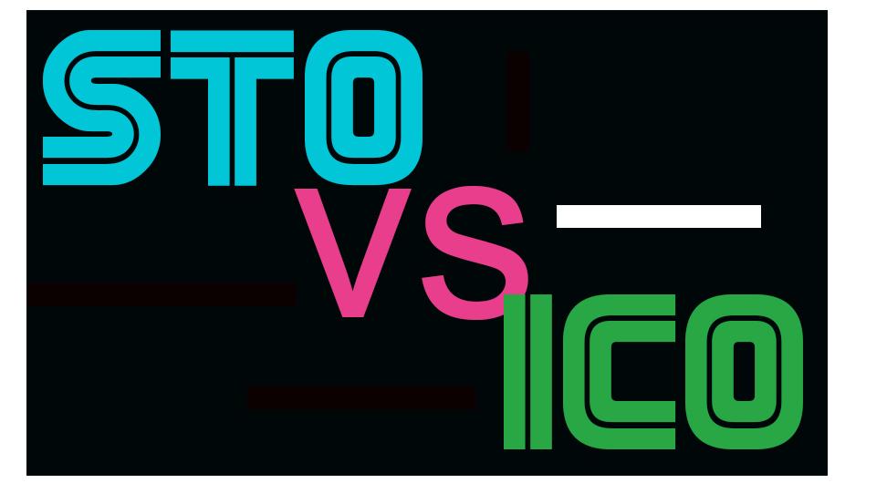 Banner STO vs ICO