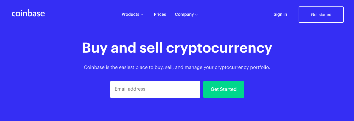 coinbaseFrontPage