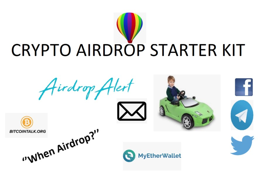 5 Essentials for joining Crypto Airdrops