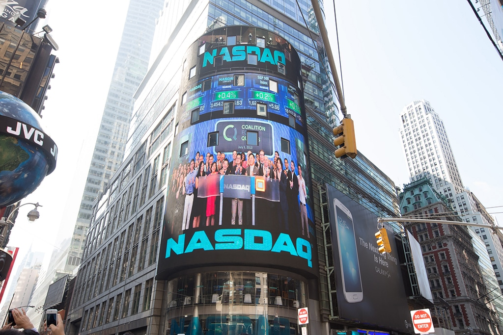 Nasdaq adds Bitcoin and Ethereum