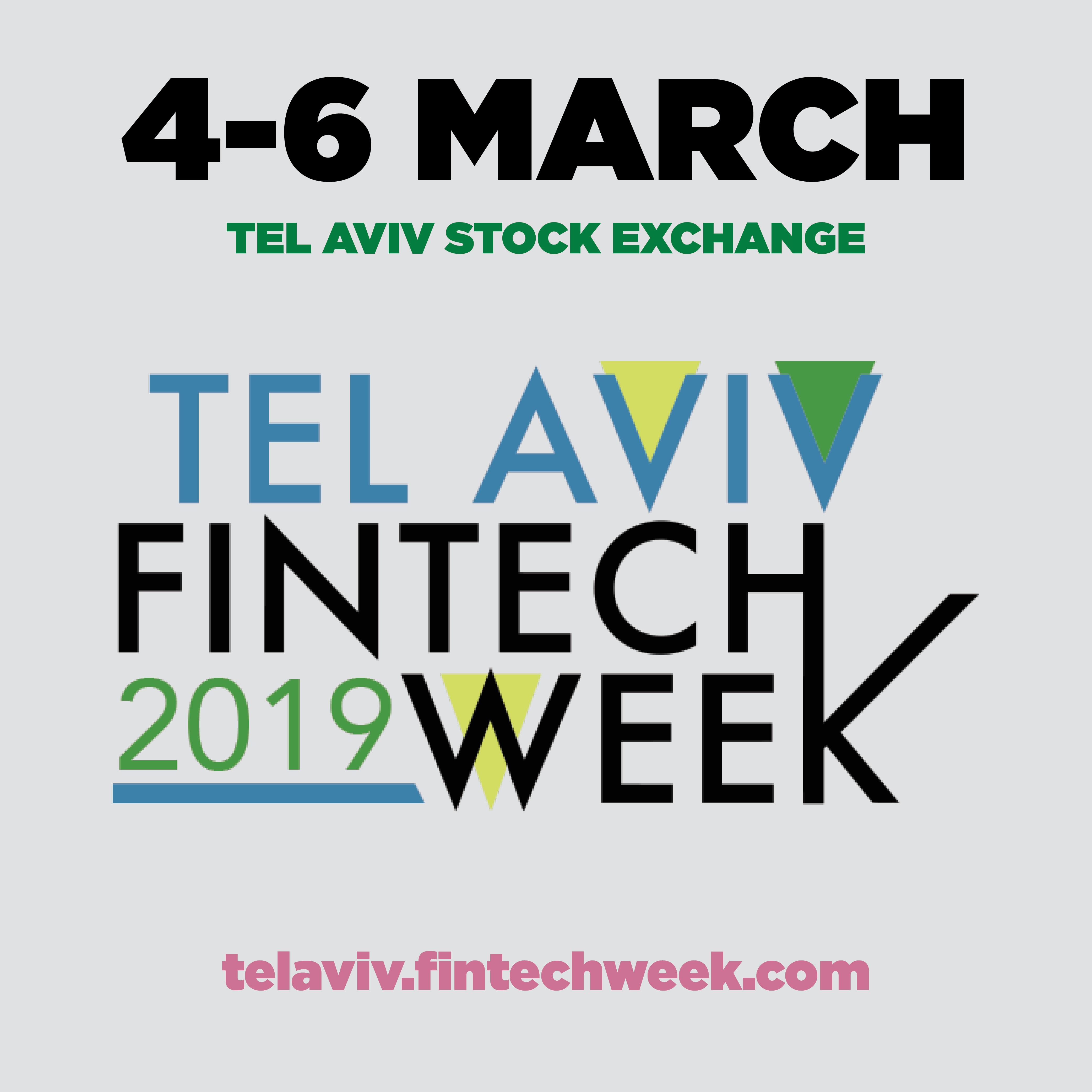 Fintech week in Tel aviv