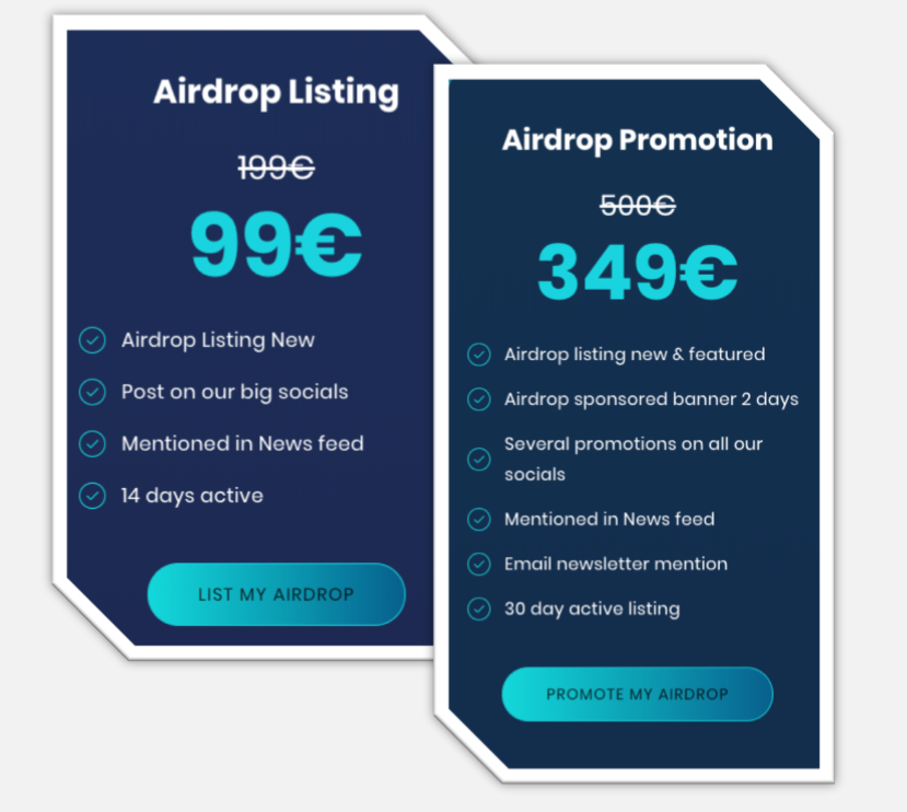 airdrop promotion