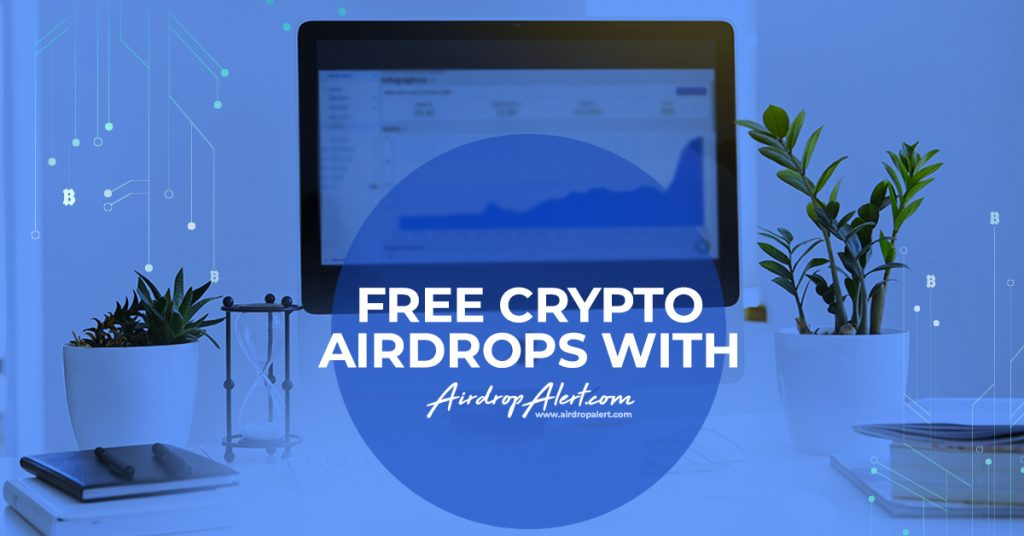 Complete free crypto airdrops with AirdropAlert