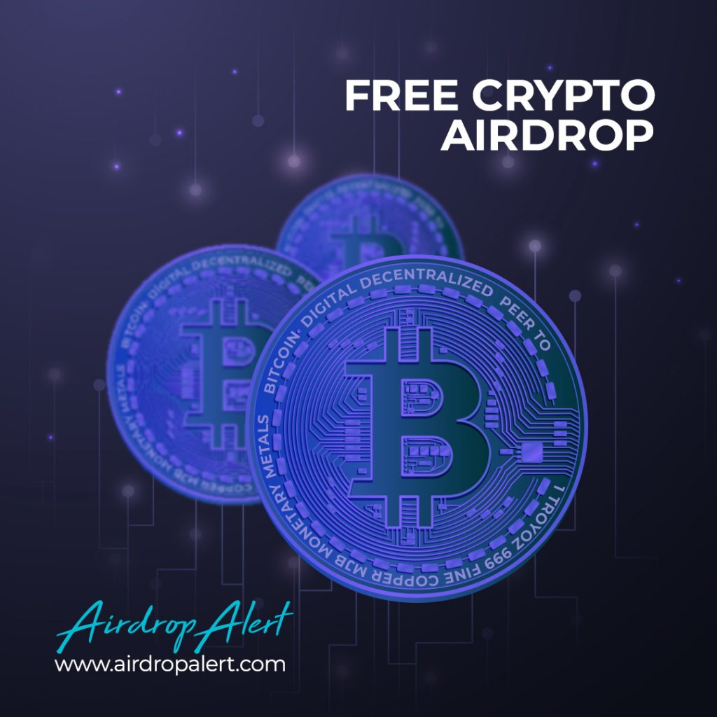 Never miss a free crypto airdrop again