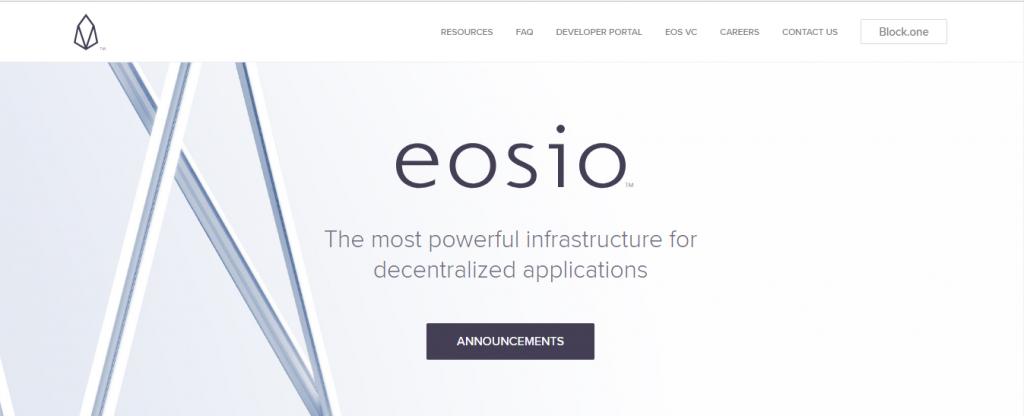 EOS best ico raise