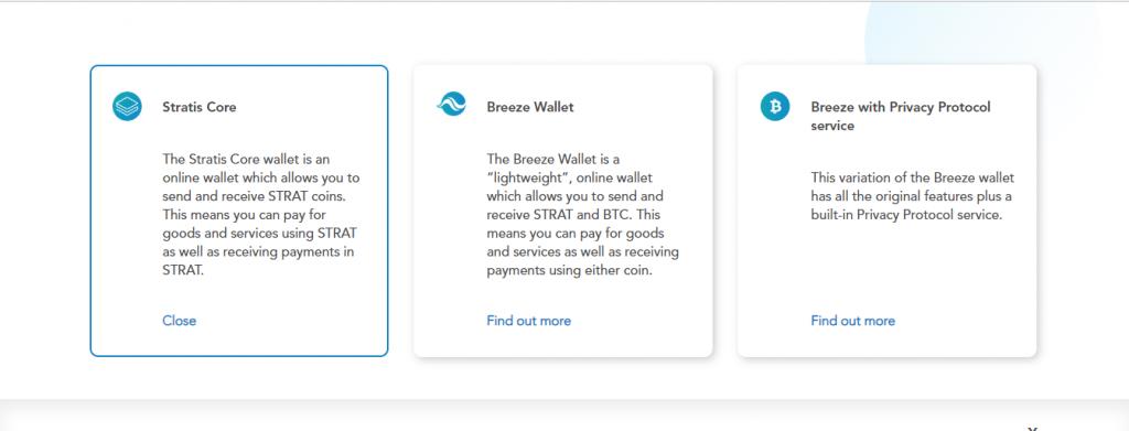 stratis wallets