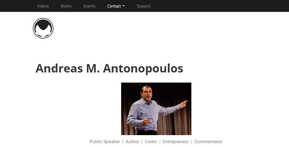 crypto influencers andreas antonopoulos