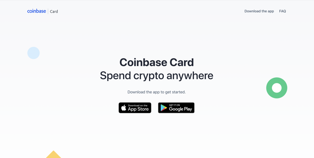 coinbase crypto credit card