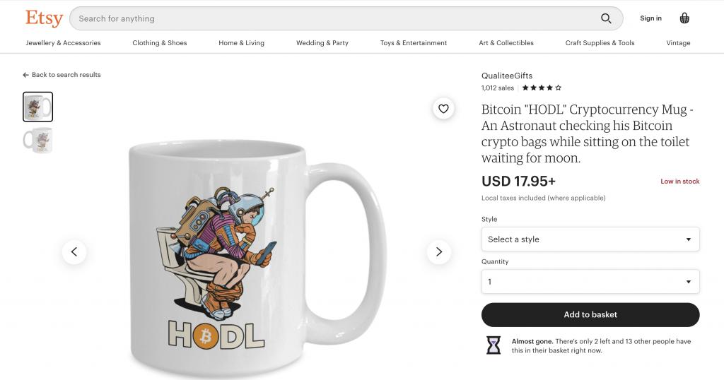 crypto gifts bitcoin mugs